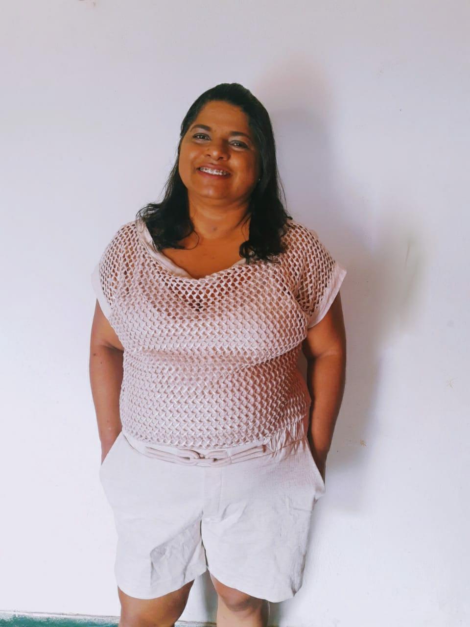Juliana Oliveira tenta uma vida mais saudável